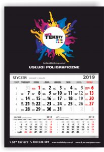 Kalendarze firmowe Olkusz