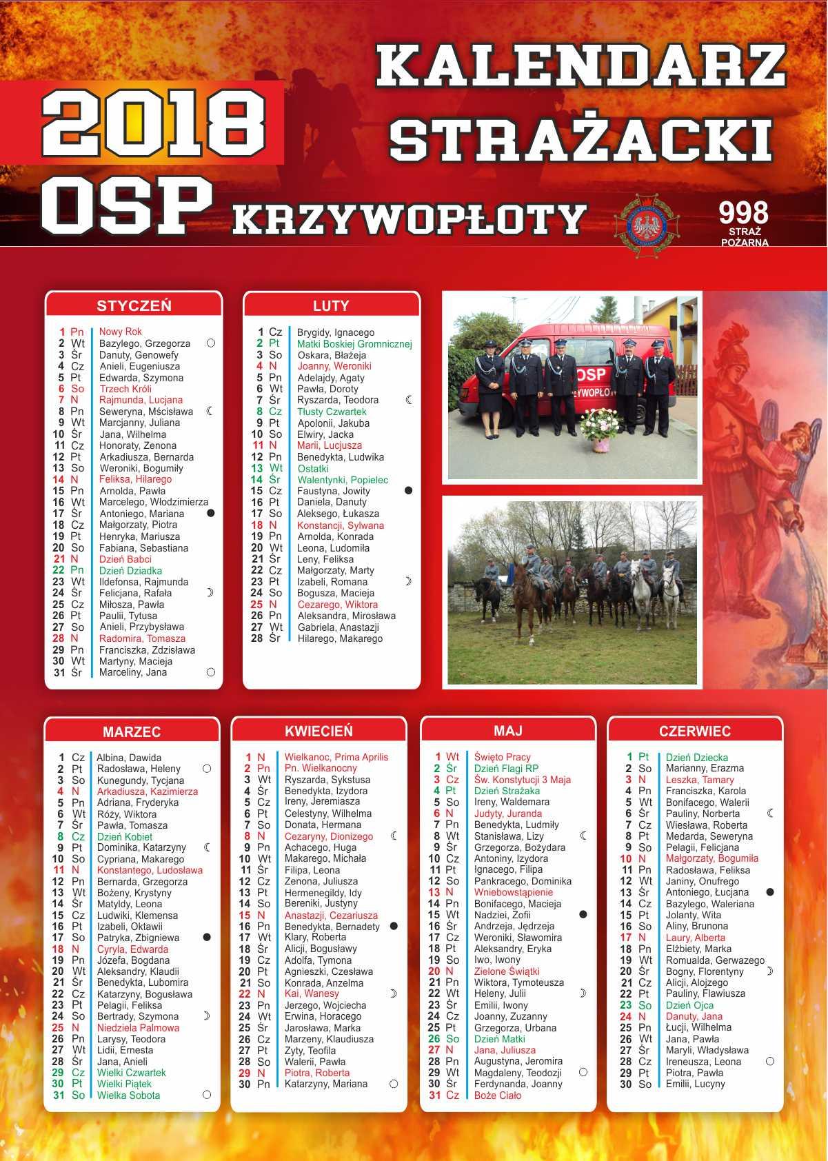 Kalendarze strażackie Olkusz